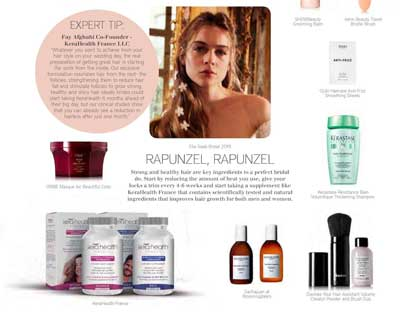 In the press – Bridal beauty arsenal