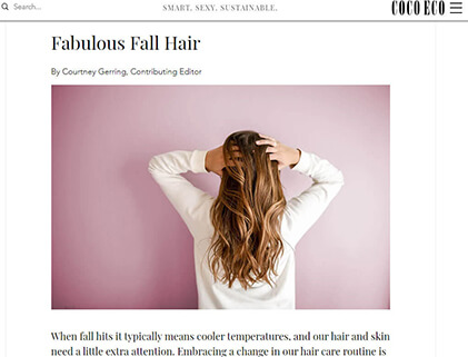 In the press- Fabulous Fall Hair