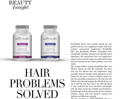 In the press- Hair problems solved