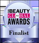 Pure Beauty Global Awards Finalist Badge